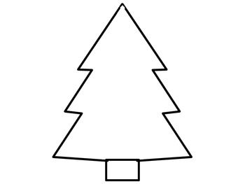 Free Christmas Tree Writing Paper Writing Paper Classroom Writing Center Teaching Holidays