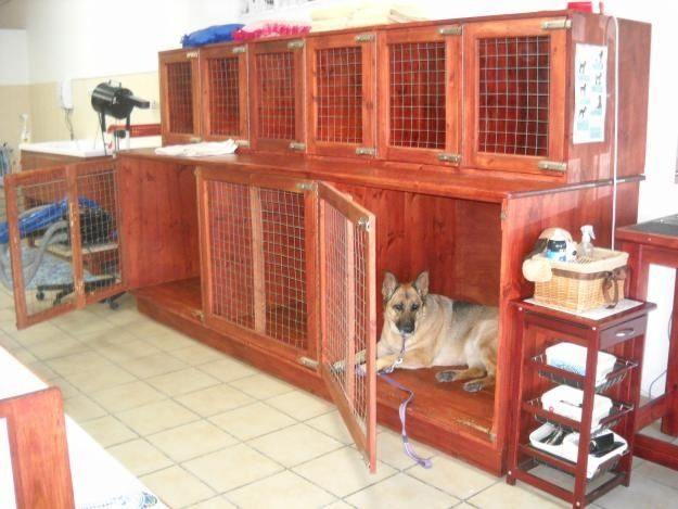 Wooden Kennel Bank Dog Grooming Salons Dog Grooming Shop