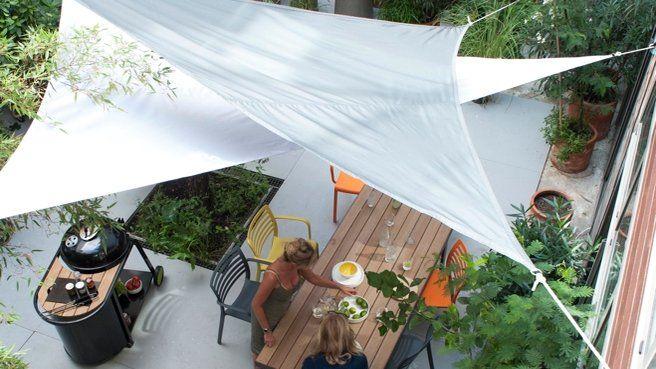 ciel en triangle patio pinterest backyard and patios. Black Bedroom Furniture Sets. Home Design Ideas