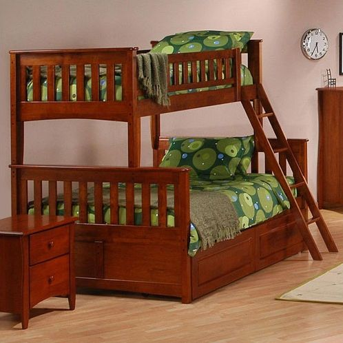 Night & Day Ginger Twin over Full Bunk $880 | KIDS ...