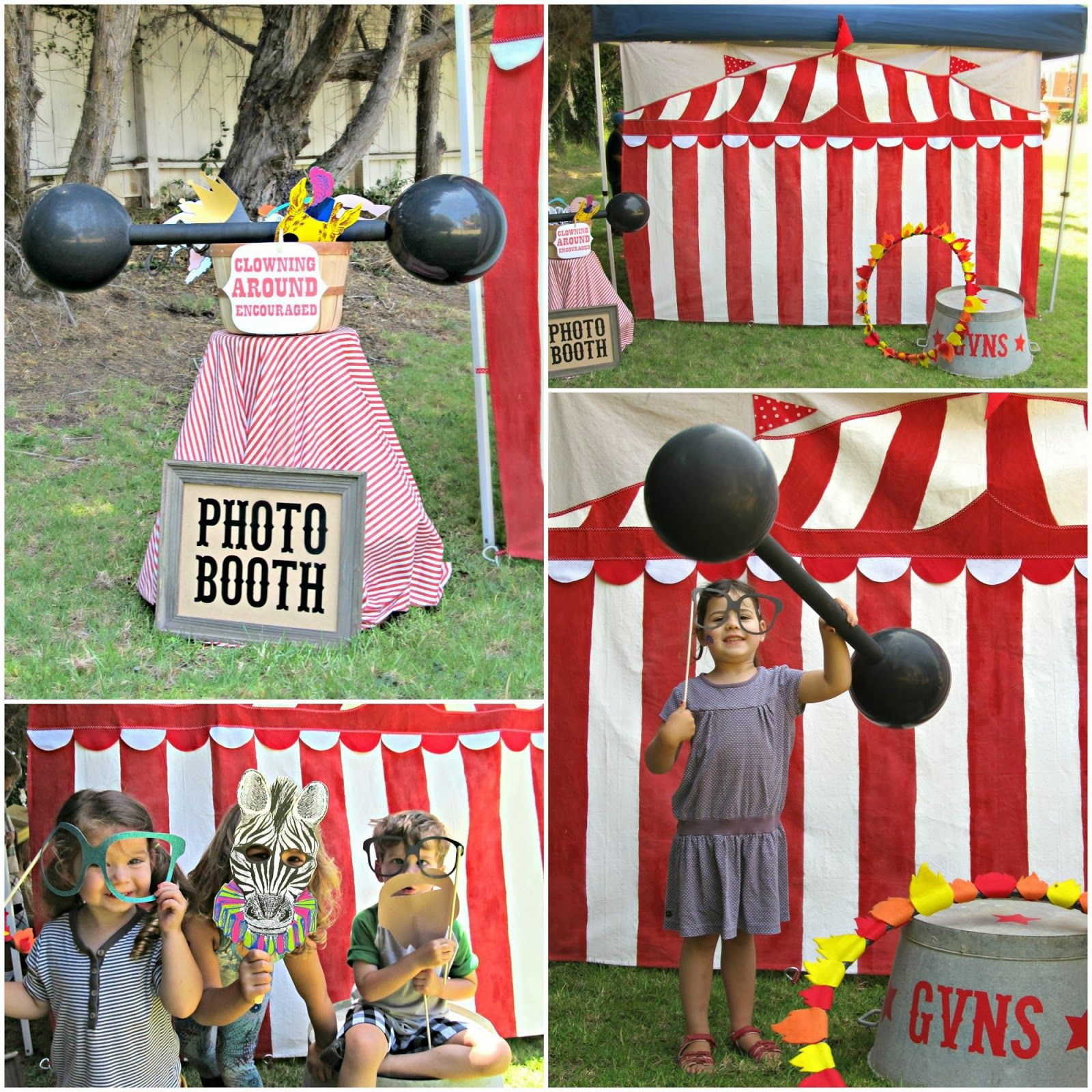 Diy Carnival Games Photo Booth