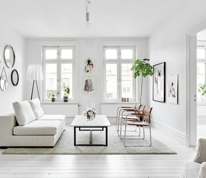 white living | swedish apartment | N E S T | Pinterest ...