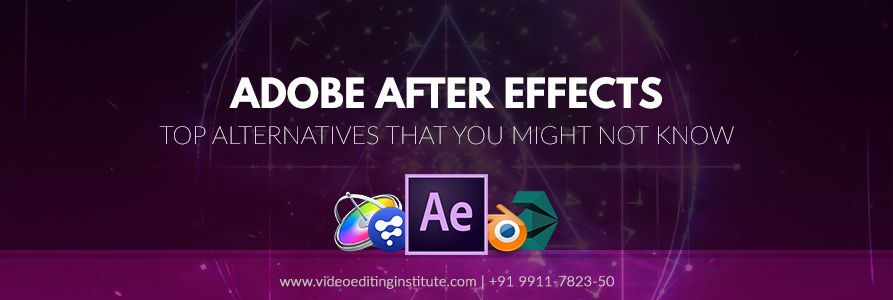 Top Alternatives To Adobe After Effects That You Might Not Know Web Banner Design After Effects Banner Design