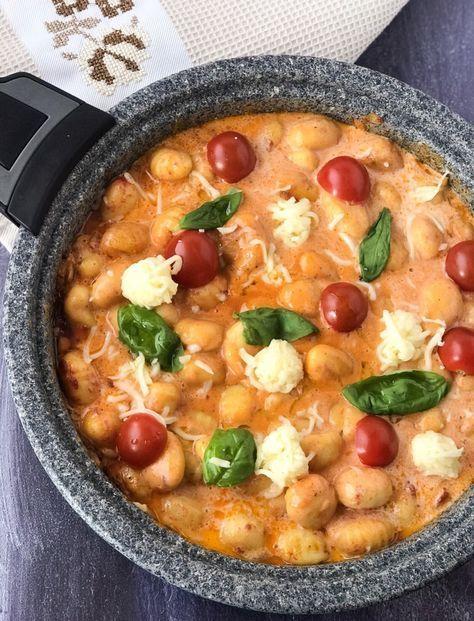 Photo of Gnocchi tomato mozzarella – SaltSugarLove