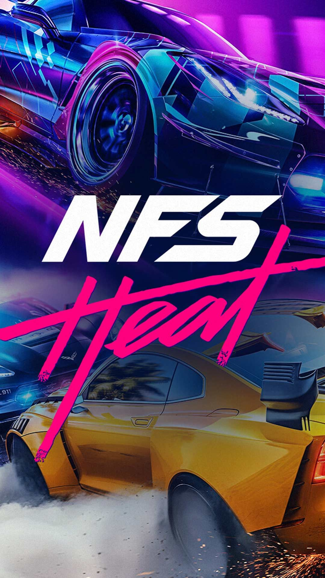 Need For Speed Heat Wallpaper Hd Phone Backgrounds Cars Poster Art On Iphone Android Lock Screen In 2020 Hd Phone Backgrounds Need For Speed Need For Speed Cars