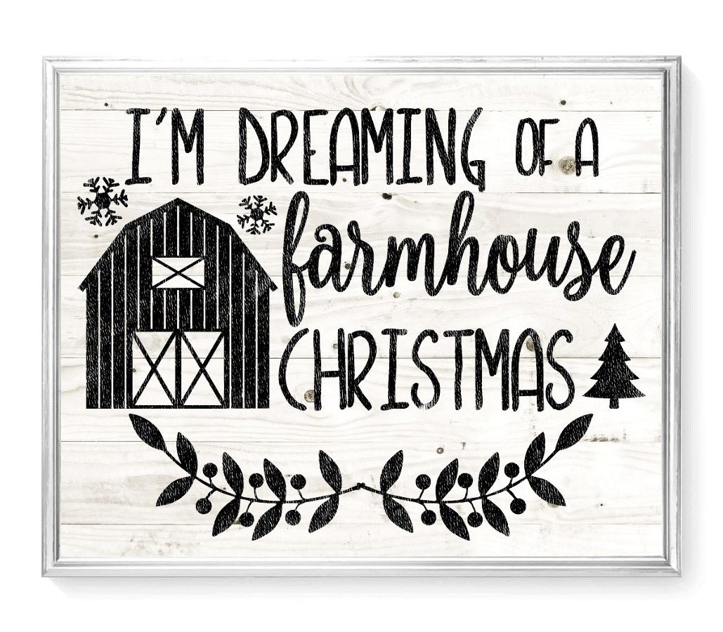 Farmhouse Christmas SVG File (With images) Christmas svg