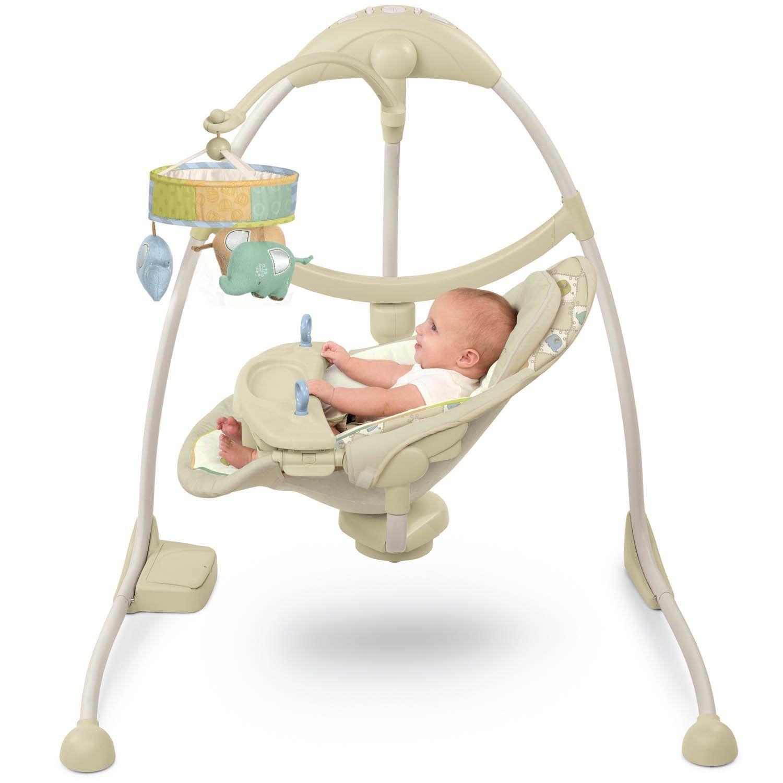 cradle swing Baby swings, Baby, Decor