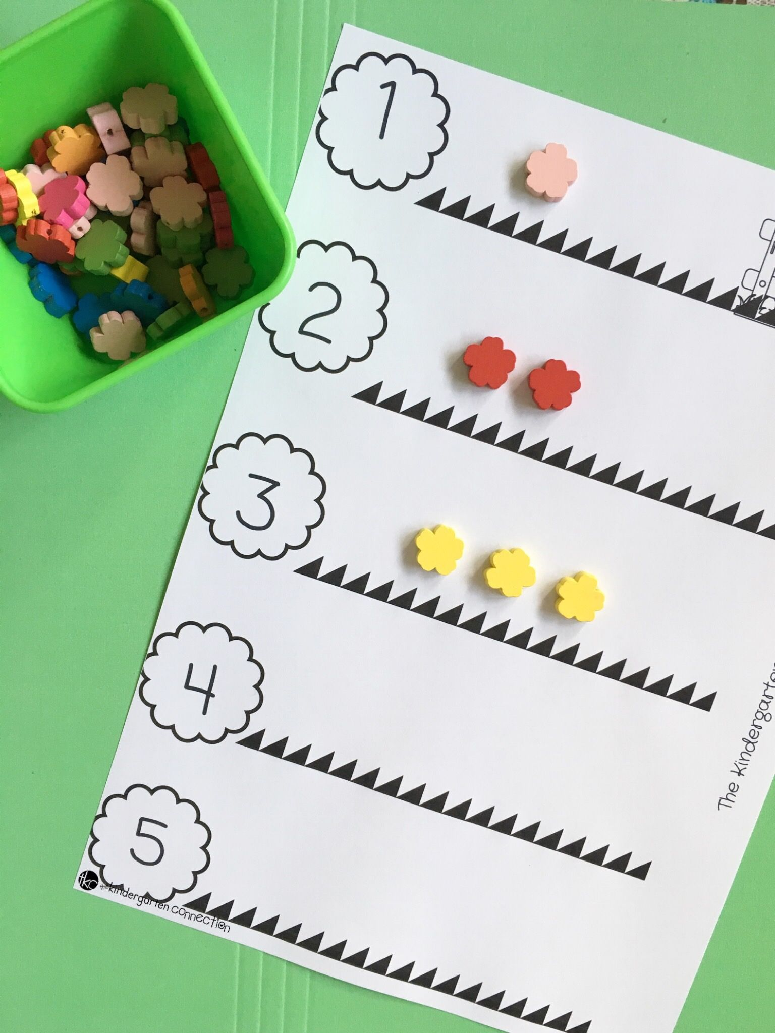 Flower Counting Activity In