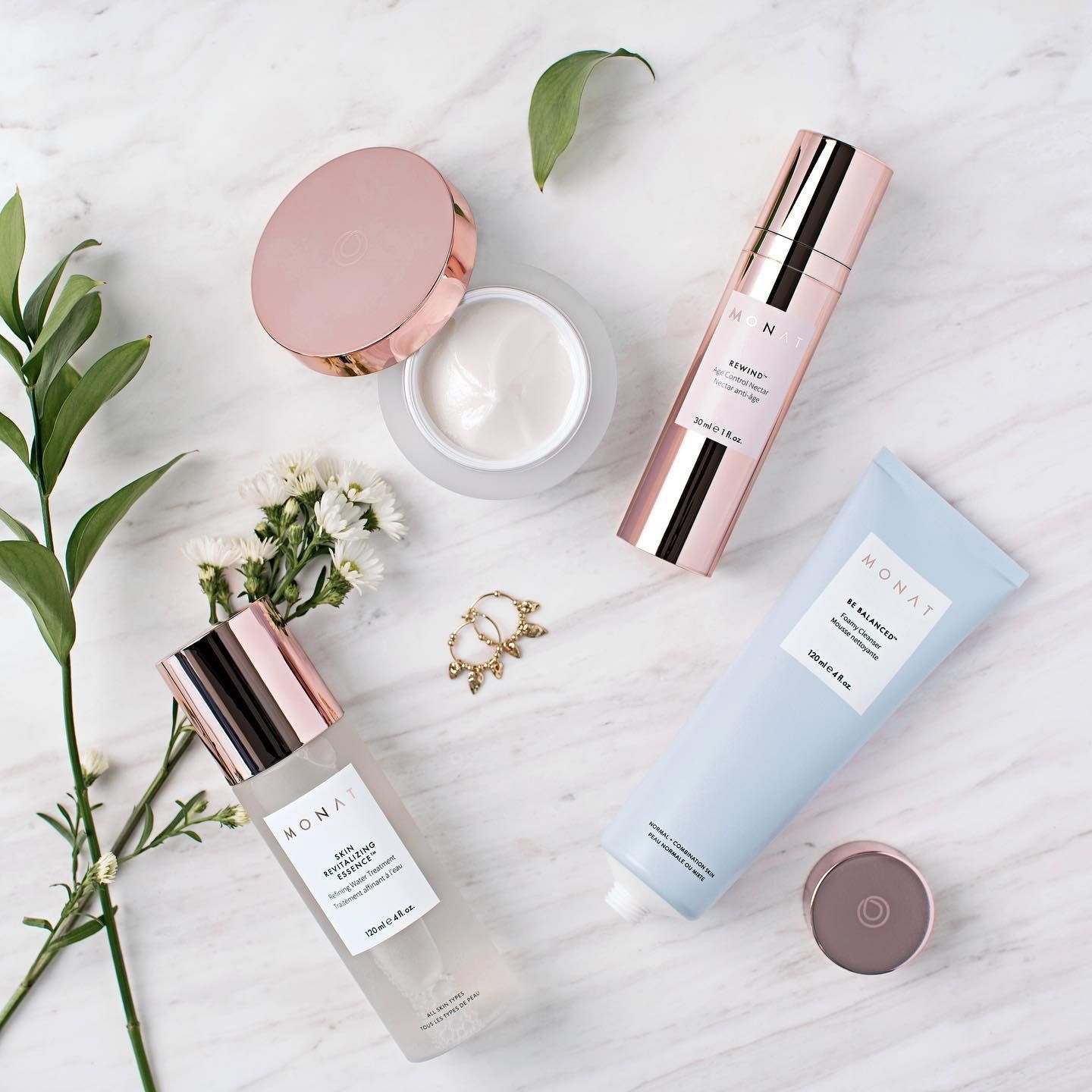 Newly announced Monat Skincare Lines Be Gentle & Be