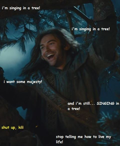 Kili Singing for Majesty by Migueles-the-Cat on DeviantArt
