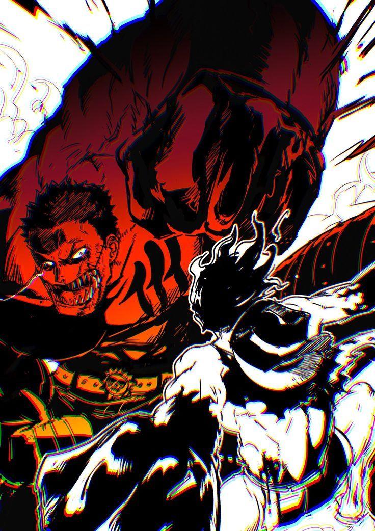 Katakuri vs Luffy (Snake Man) Katakuri Luffy Man