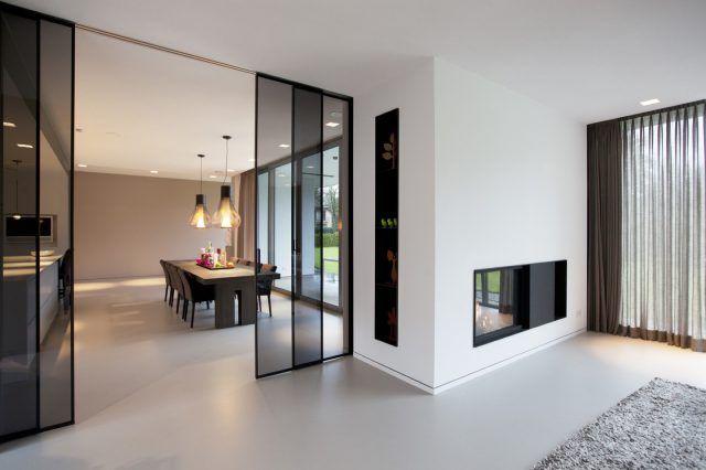 Kap berk moderne villa gelderland home interiors in