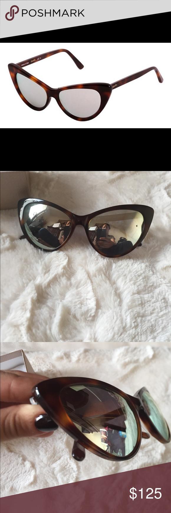 b2fa4d1cb479 Spektre Sunglasses Brand new with case. Eva. Mirror lens. Tortoise shell  design spektre Accessories Sunglasses