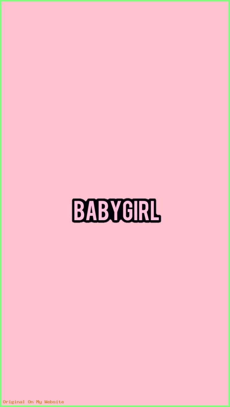 Iphone Wallpapers Tumblr Babygirl By Kitrarn Iphonewallpaperstumblrcute Iphonewallpape Pink Wallpaper Iphone Sassy Wallpaper Baby Girl Wallpaper