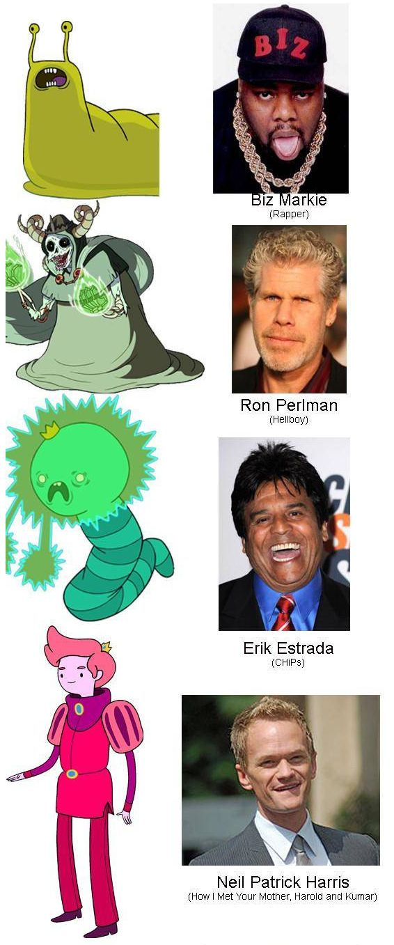 "25 Actors You Might Not Have Known Did Voices On ""Adventure Time"""