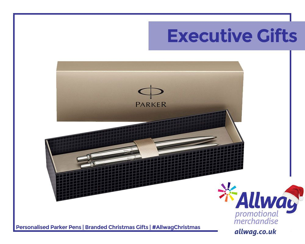 Branded Parker Pens add a touch of elegance to your executive gift this Christmas. Shop