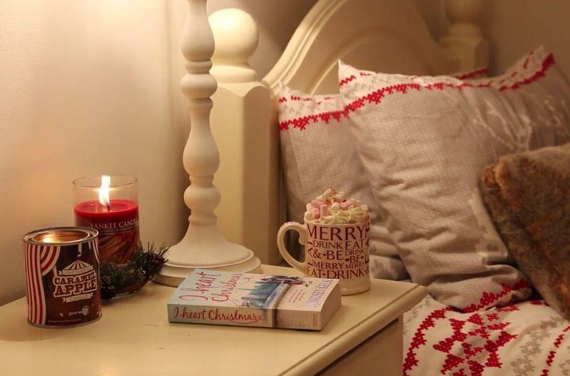 Christmas bedroom inspiration   Zoella. Christmas bedroom inspiration   Zoella   Home ideas   inspired
