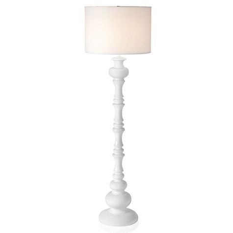 White Chess Piece Inspired Floor Lamp Beautiful Floor Lamps Floor Lamp Lighting White Floor Lamp