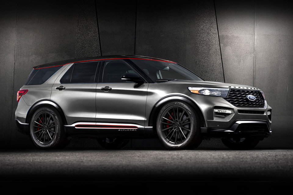 2020 Ford x Blood Type Racing Explorer SUV Ford explorer