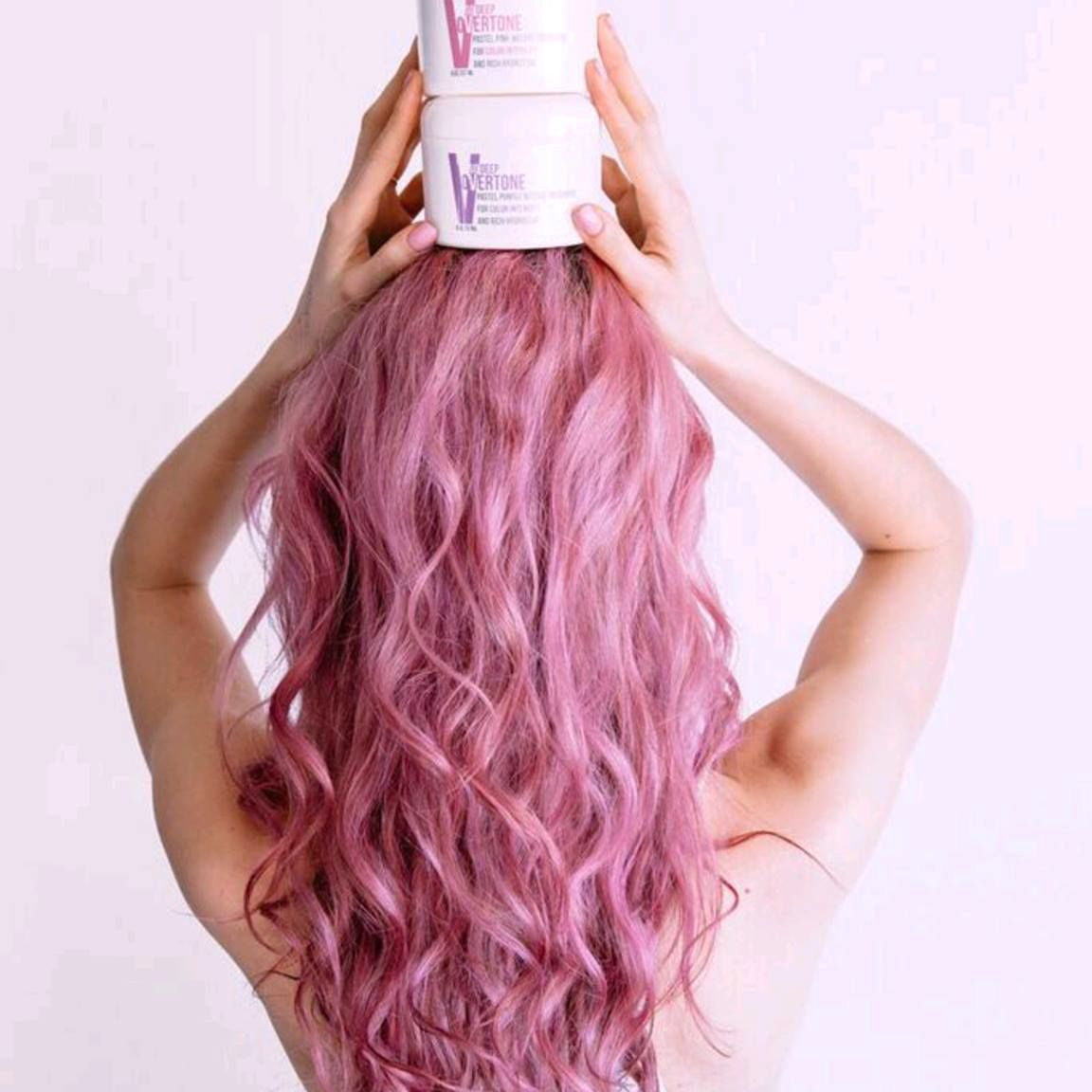 Dusty Orchid Conditioner Kit Dusty Rose Color Pastel Purple And