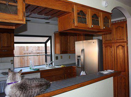 Modelos de estantes de melamina para cocina buscar con for Modelos de muebles de cocina modernos