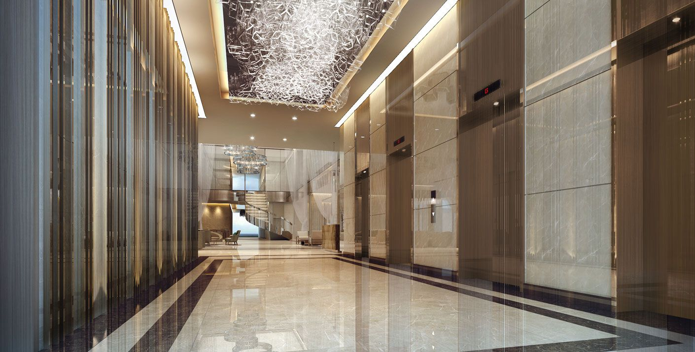 BLS Executive Apartments In Jeddah Saudi Arabia Designed By Studio HBA The Interior Concept
