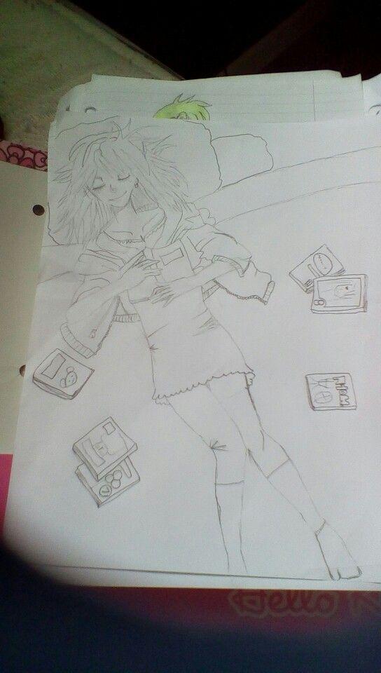 I drew this .-.