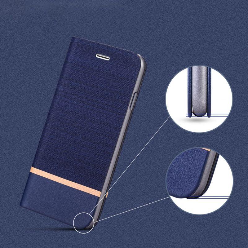 For Xiaomi Mi Max 3 Mi Max 3 Pro Flip Book Case For Xiaomi Redmi Note 6 Mi 7 Business Leather Phone Case Silicone Back Cover Leather Phone Case Phone Cases Leather Case