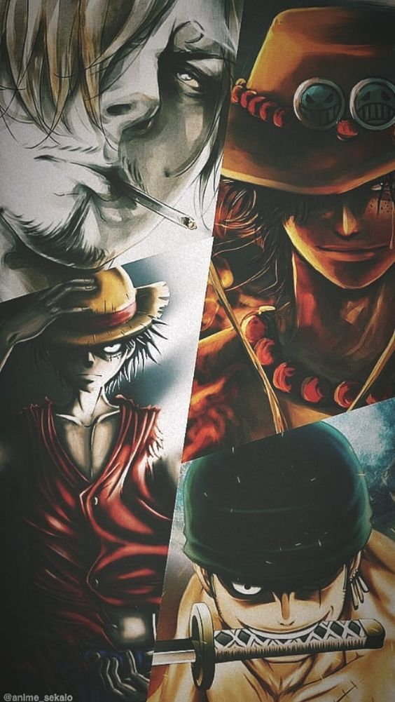 One Piece Seni Anime Seni 3d Seni
