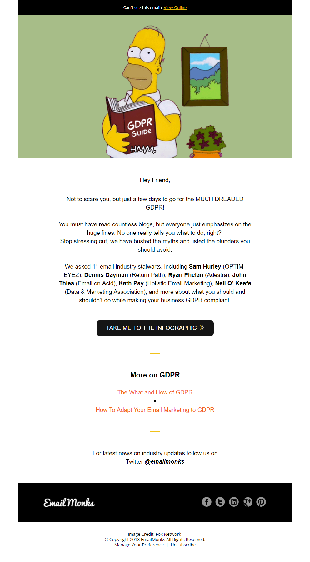EmailMonks GDPR email For GDPR content https//www.e