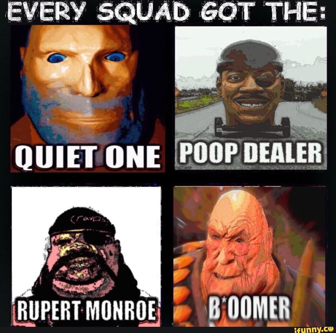 EVERY SQUAD 601 THE; iFunny ) Memes, Funny games, Squad