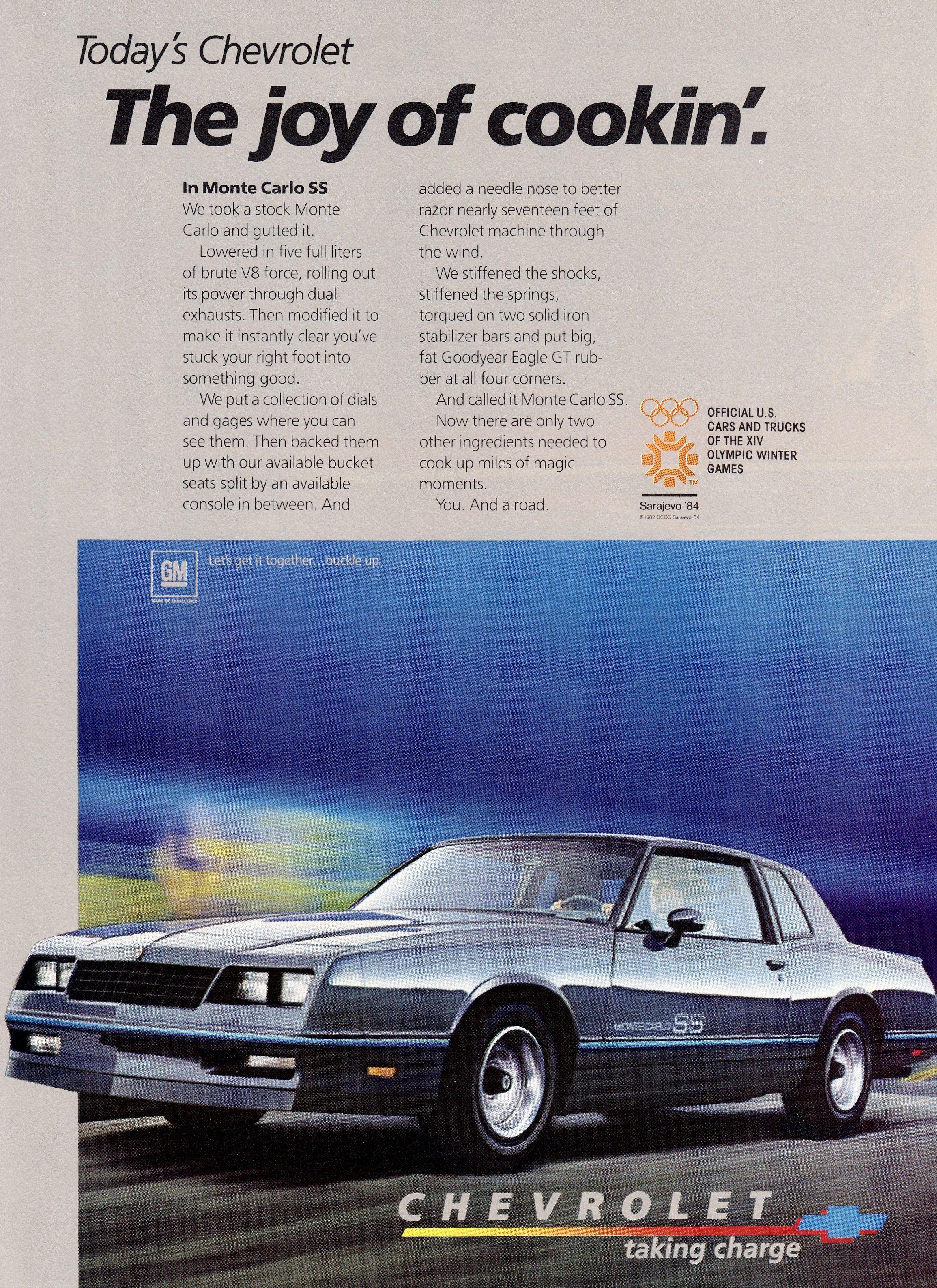 1983 Monte Carlo : monte, carlo, Chevy, Malibu,, Monte, Carlo