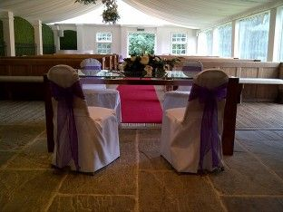 Chair cover hire & venue dress - Balloon Wishes