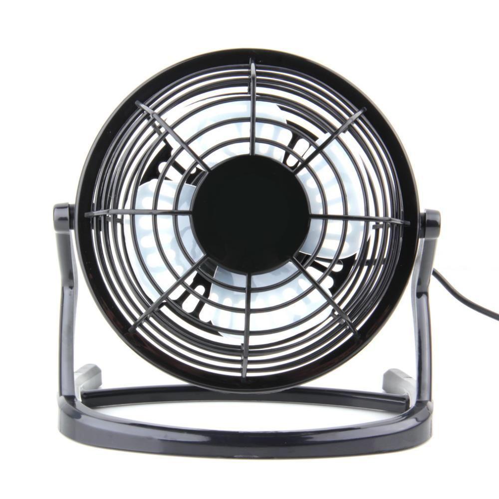 Portable Dc 5v Small Desk Usb 4 Blades Cooler Cooling Fan Usb Mini