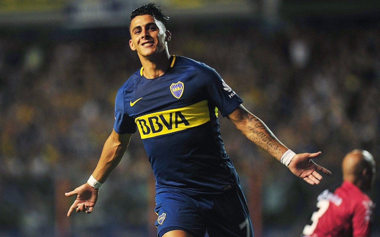 Cristian Pavón (Boca Juniors vs. Colón) | Club atlético boca juniors, Boca  juniors, La 12 boca juniors