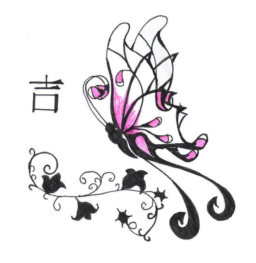 Girl tattoo ideas butterfly butterfly  cerca con google  shimmering powder  pinterest
