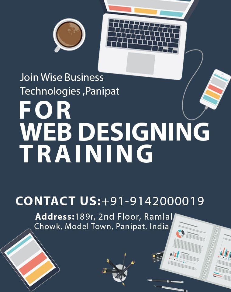 Web Designing Course In Panipat Web Development Traning Wbt Web Design Course Web Design Training Web Design
