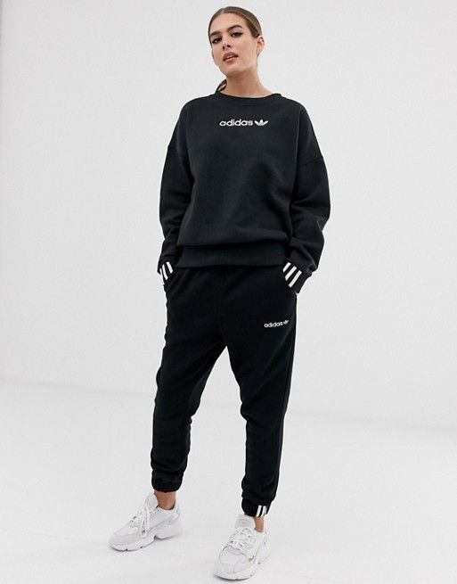 4f9635ebac8 adidas Originals Coeeze sweat pant in black in 2019 | Dress skirt ...