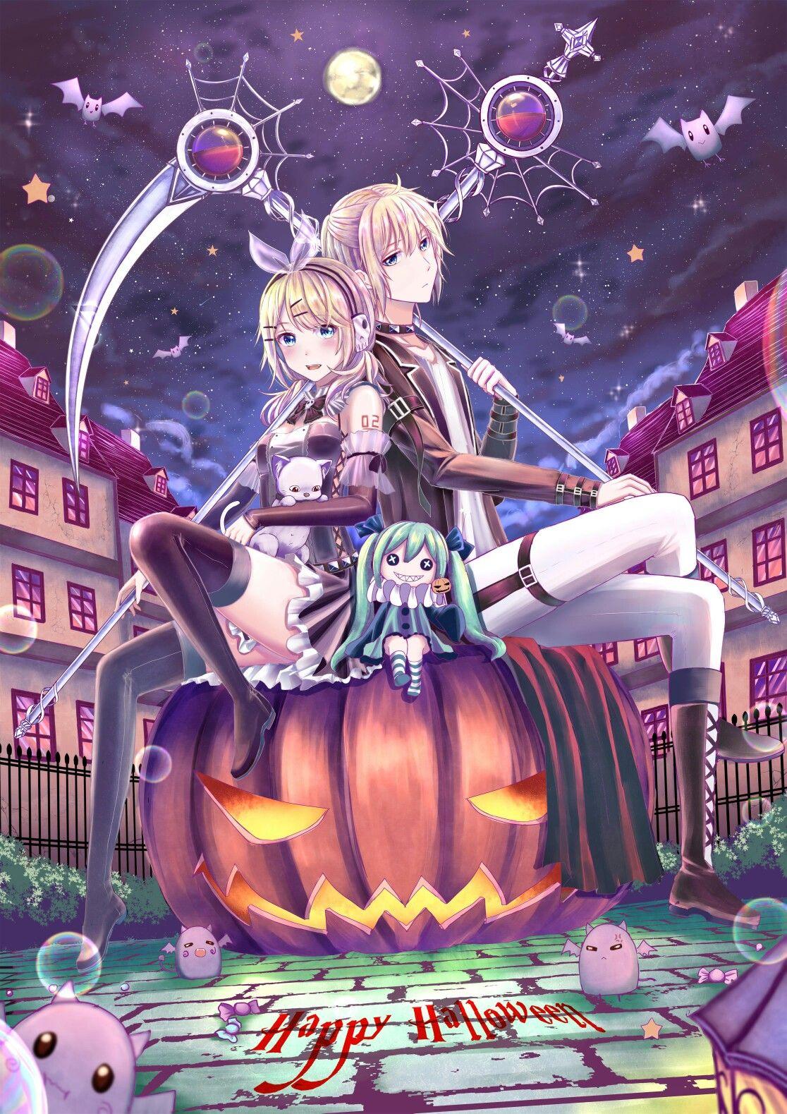 happy halloween rin
