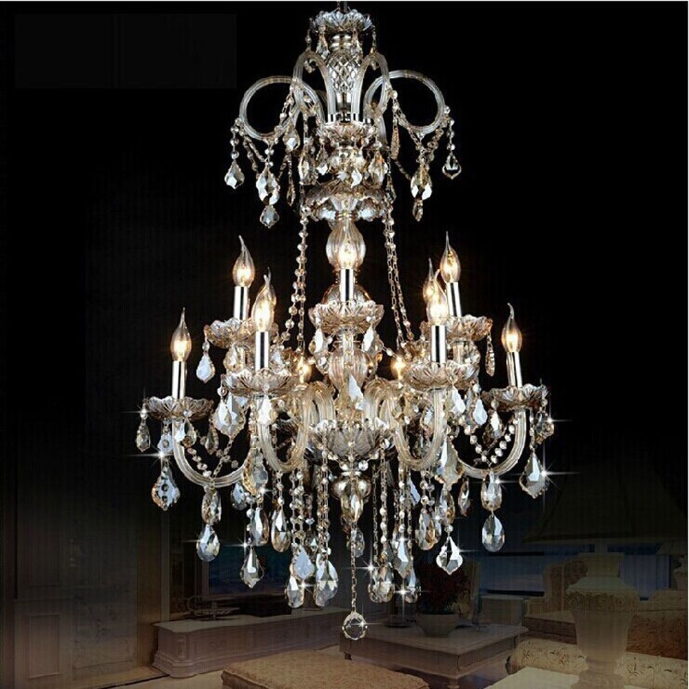 Cheap crystal chandelier Buy Quality 12 light