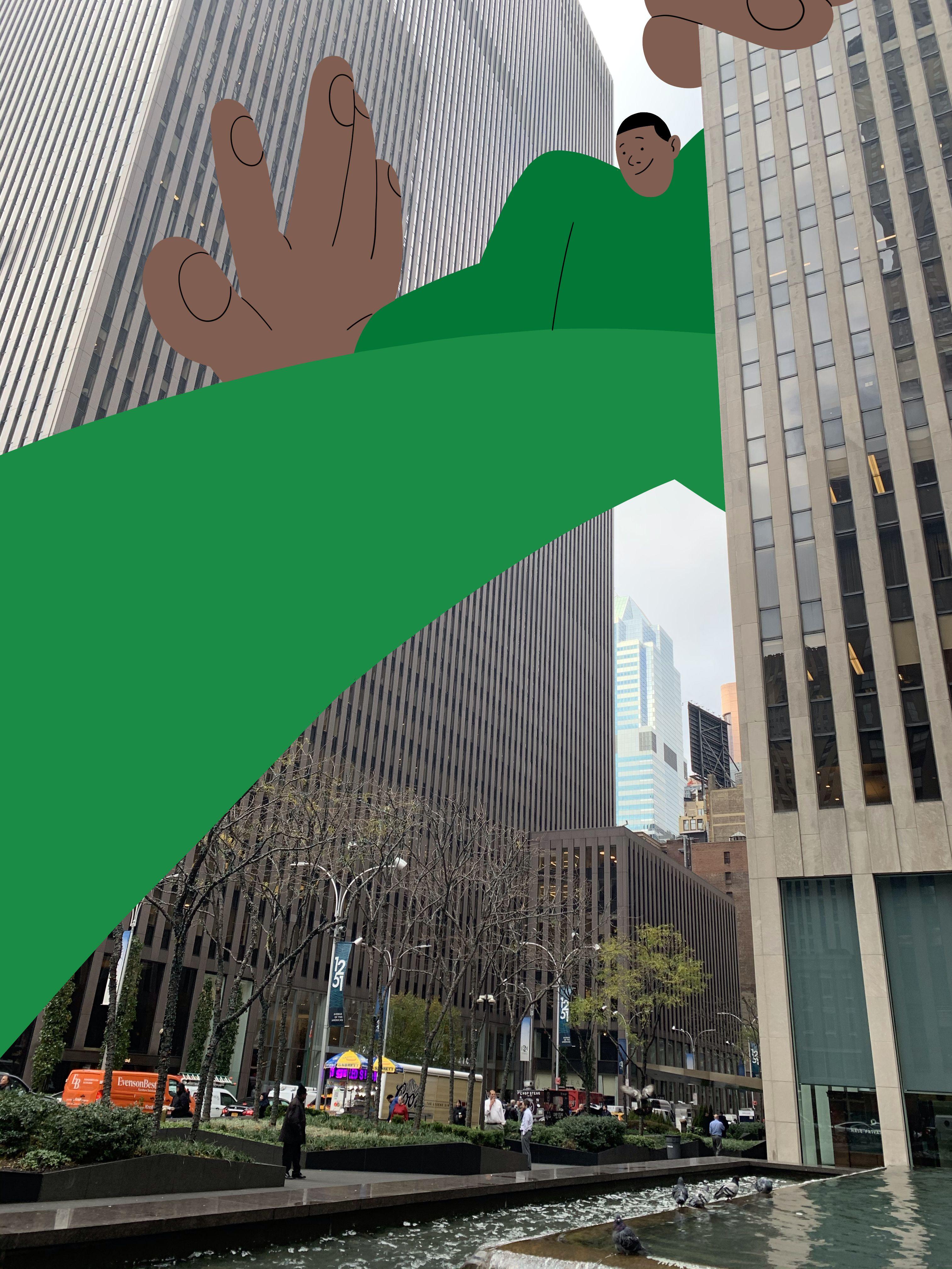 New York Alva Skog in 2020 Top of the world