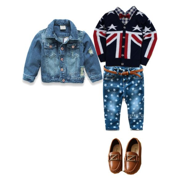 baby boy set by koki22015 on Polyvore featuring мода