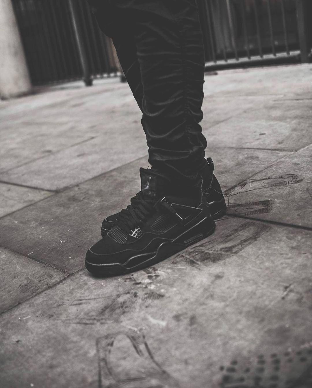 Jordan 4 black, Air jordans