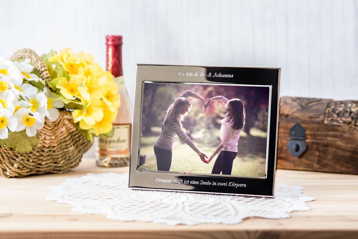 Bilderrahmen mit Gravur - photoframe personalized, #engraving ...