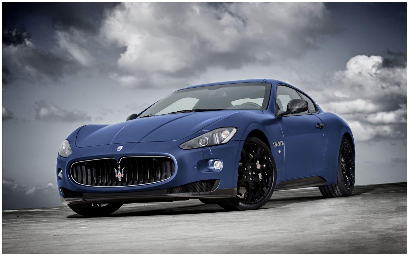 New Maserati Granturismo Hd Car Wallpaper Maserati Granturismo Maserati Granturismo S Sports Cars Luxury