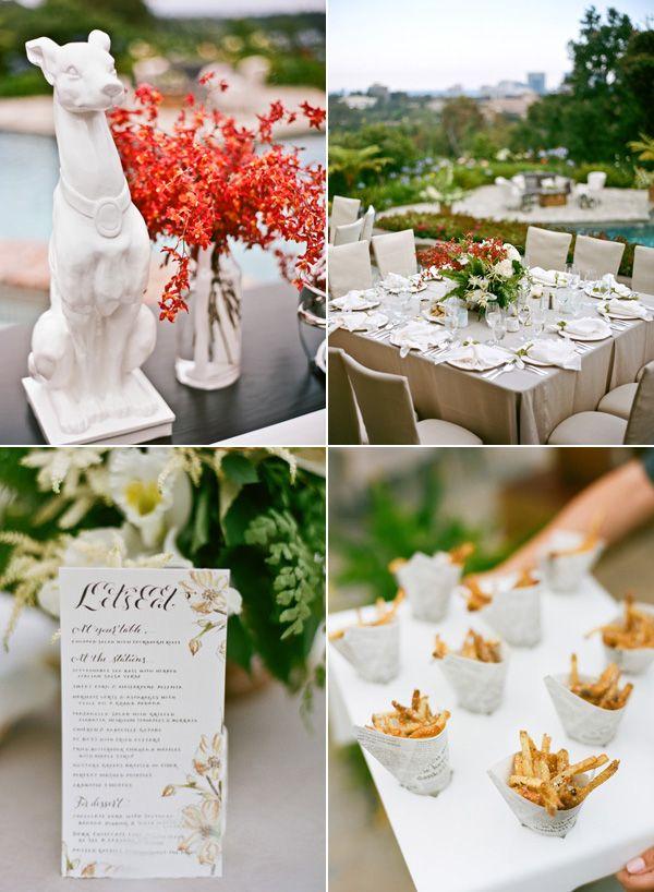 Tess & Peter | Luxurious Garden Wedding in Los Angeles | Snippet & Ink