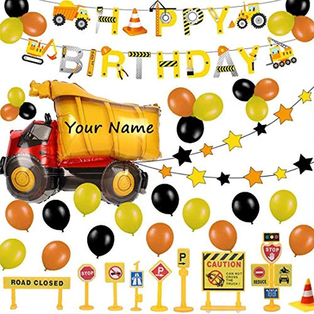 52 Stuck Baustelle Geburtstag Deko Set Alles Gute Zum Geburtstag