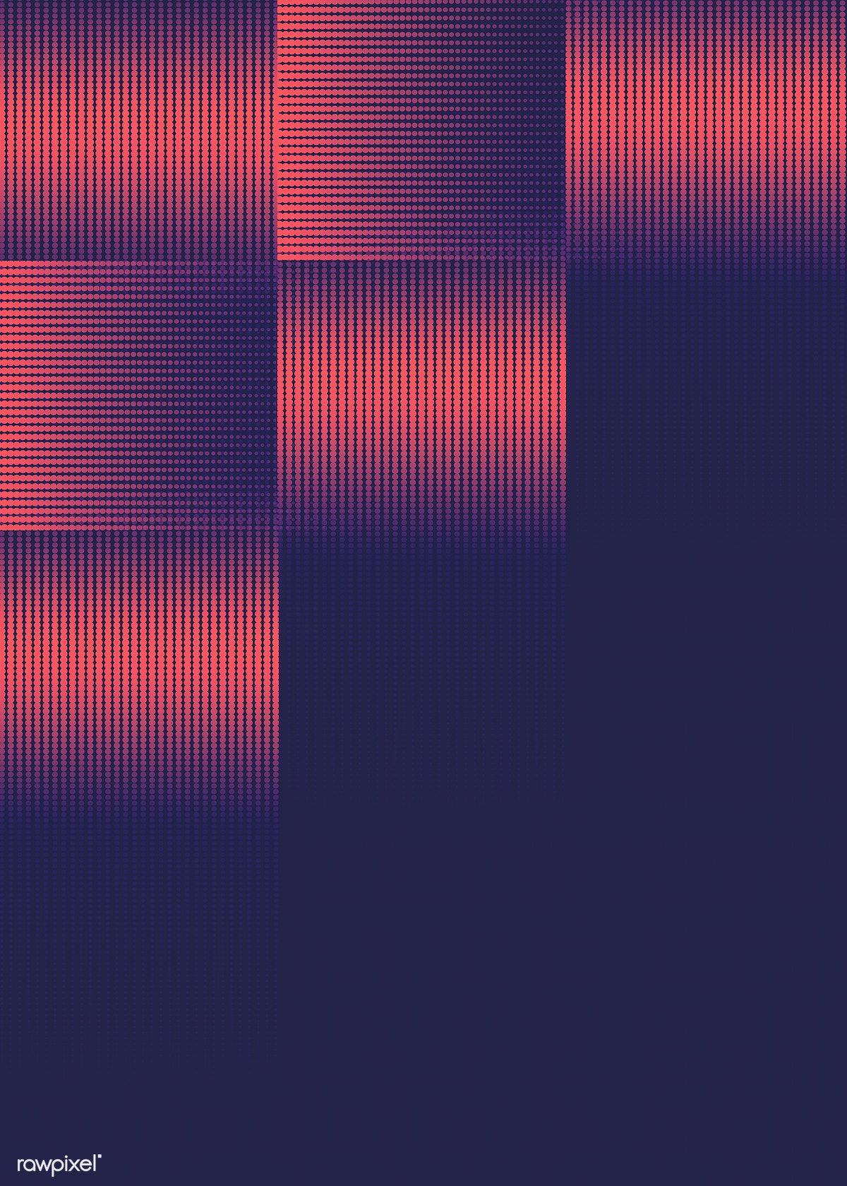 Geometric halftone navy blue background vector | free image by rawpixel.com / Niwat