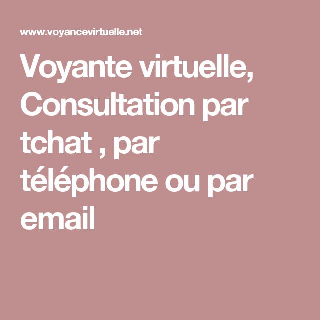 Voyante virtuelle, Consultation par tchat , par téléphone ou par email  Telephone, Phone b33fdb3418ff