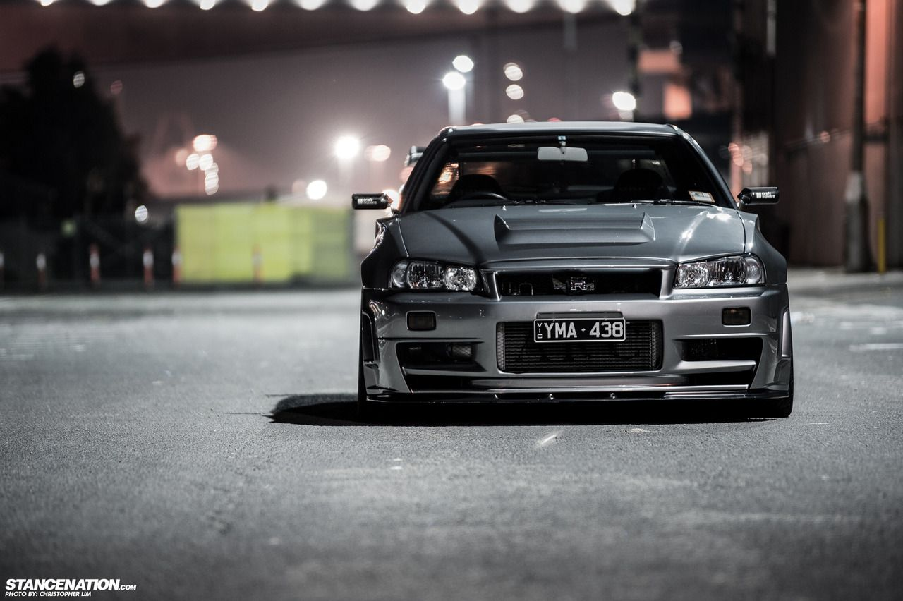 Nissan Skyline R34 Whats Up Chillin The Classic Modern